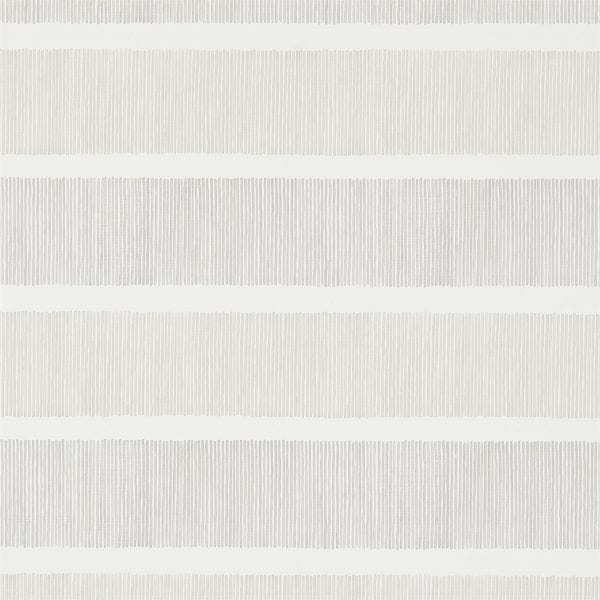 Willow Bloom Home Addison Stripe Silver:Linen Wallpaper