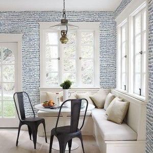 Willow Bloom Home Besom Celeste Wallpaper