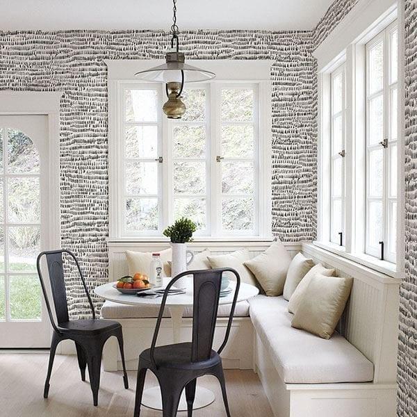 Willow Bloom Home Besom Slate Wallpaper