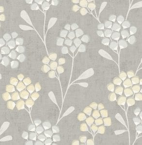 Willow Bloom Home Coraline Citrine Wallpaper