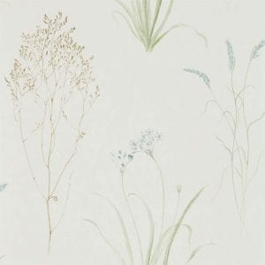 Willow Bloom Home Grasses Cream:Sage Wallpaper