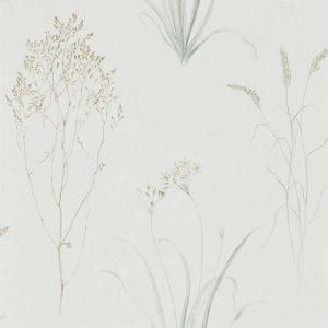 Willow Bloom Home Grasses Silver:Ivory Wallpaper