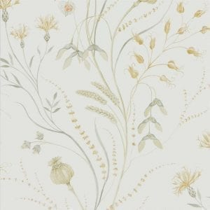 Willow Bloom Home Harvest Silver:Corn Wallpaper
