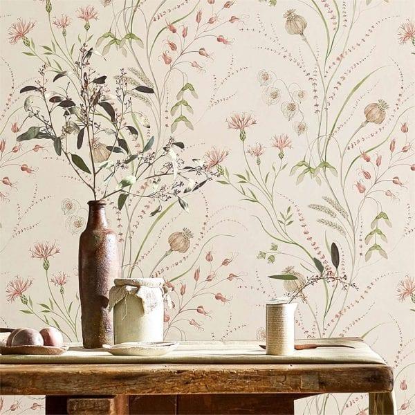 Willow Bloom Home Harvest Wallpaper