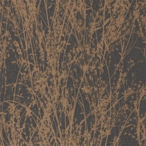 Willow Bloom Home Meadow Bronze:Charcoal Wallpaper