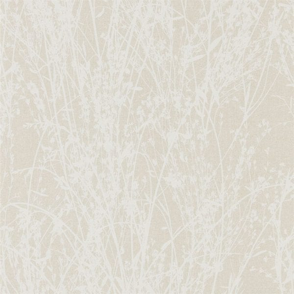 Willow Bloom Home Meadow White:Parchment Wallpaper