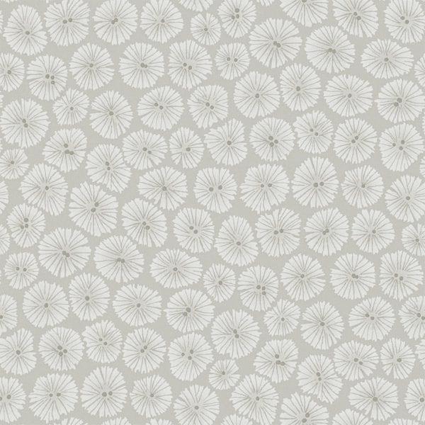 Willow Bloom Home Verdure Silver Wallpaper