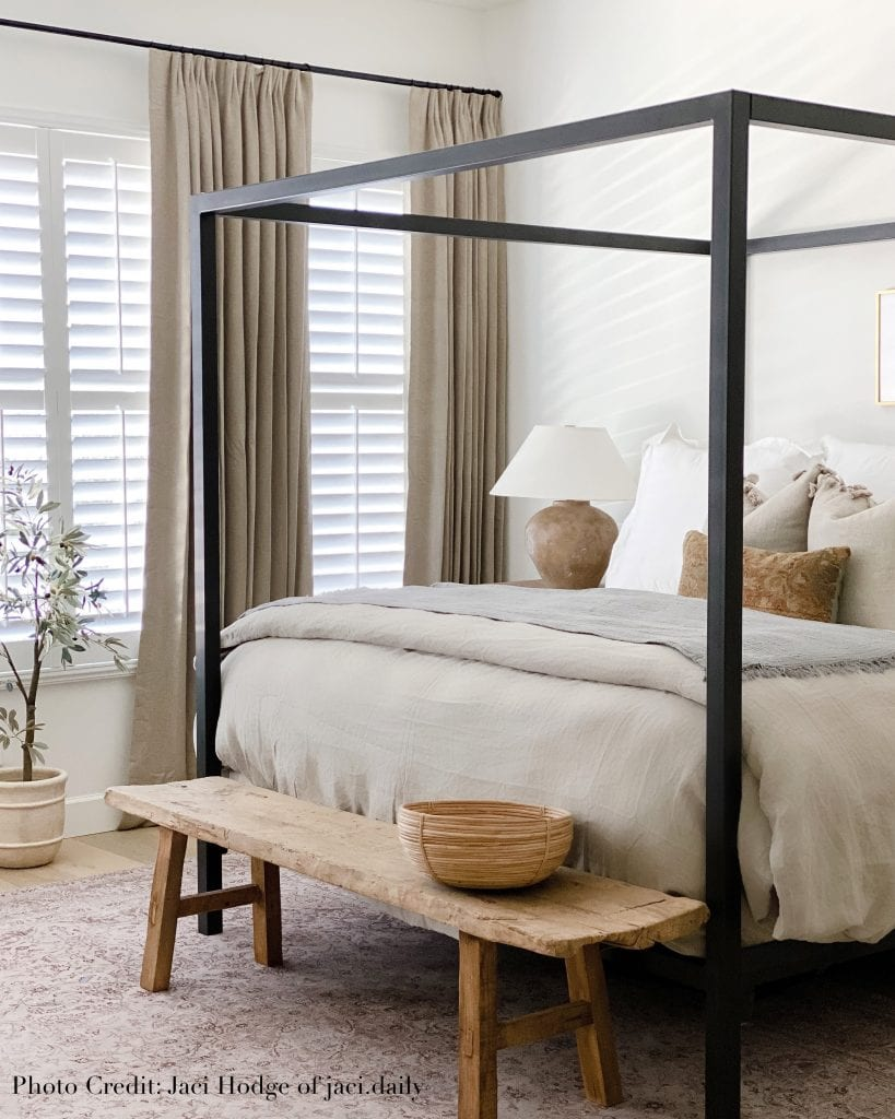Willow Bloom Home Candor Clay Drape