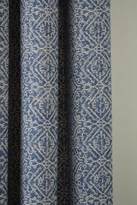 Willow Bloom Home Azuri Blue Drape