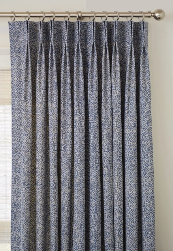 Willow Bloom Home Azuri Blue Drape