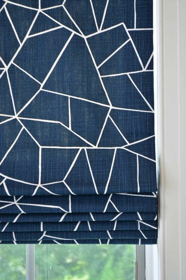 Willow Bloom Home Miro Cobalt Romans Shade