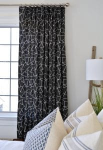 Willow Bloom Home Miro Onyx Drapes