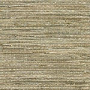 Willow Bloom Home Array Gold Grasscloth Wallpaper