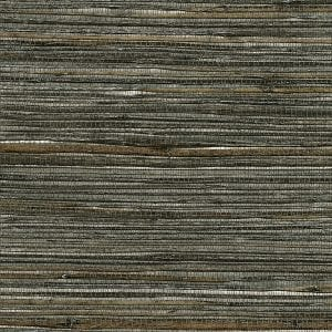 Willow Bloom Home Chatham Silver Grasscloth Wallpaper