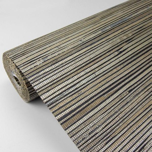 Willow Bloom Home Marbelle Metallic Grasscloth Wallpaper