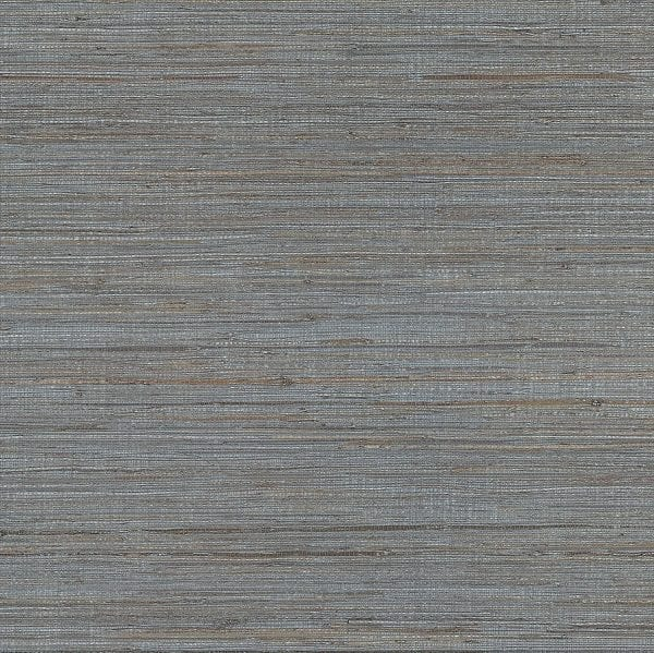 Willow Bloom Home Thalia Slate Grasscloth Wallpaper
