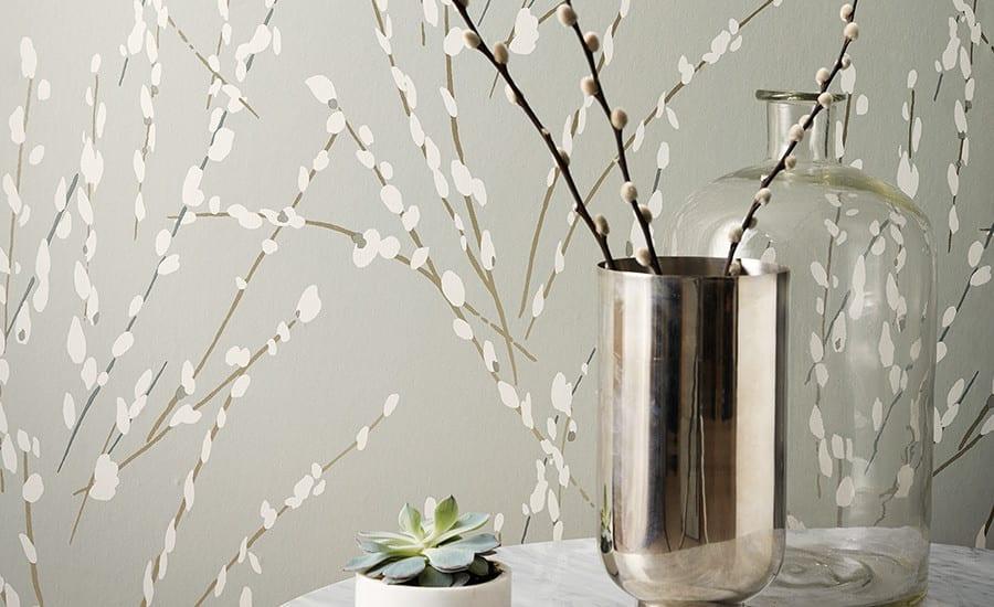 Willow Bloom Fog Wallpaper 2