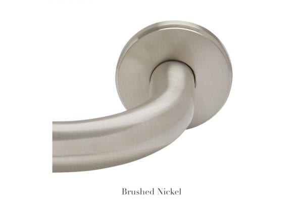 Willow Bloom Home French Return Round Mount - Brushed Nickel