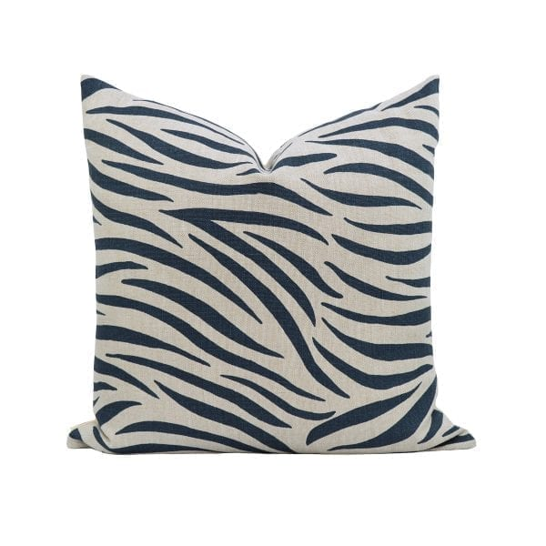 Willow Bloom Home Augusta Navy Pillow