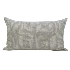 Willow Bloom Home Emerson Brush Lumbar Pillow