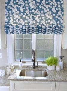 Willow Bloom Home Reign Zenith Roman Shade