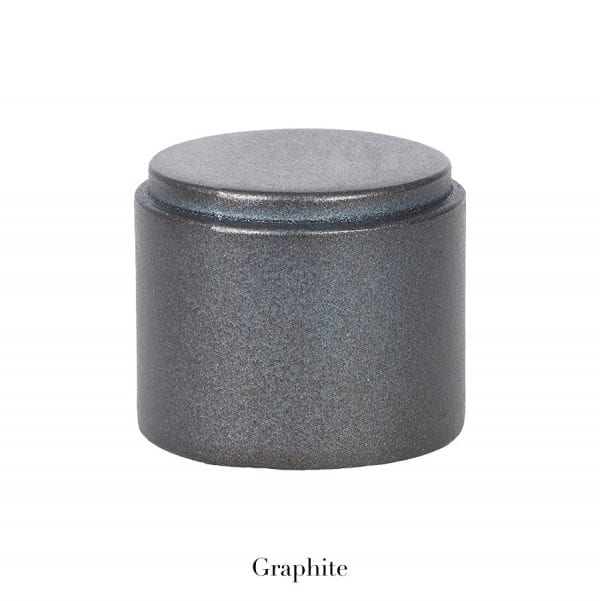 Willow Bloom Home End Cap - Graphite