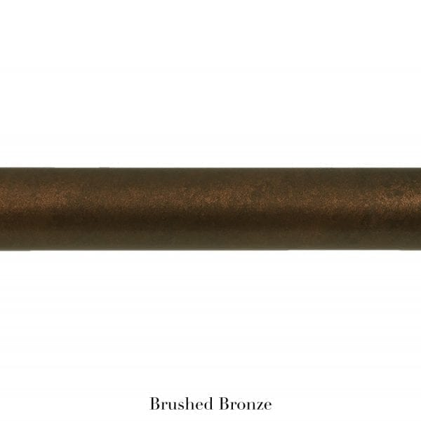 Willow Bloom Home Metal Pole Burnished Bronze
