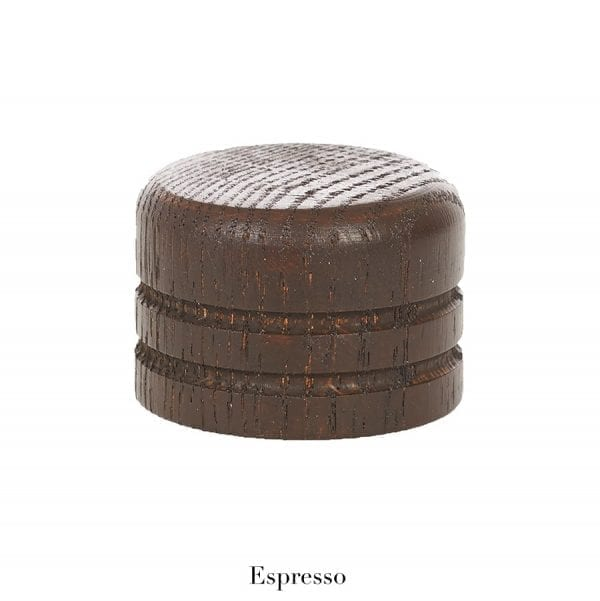 Willow Bloom Home Wood End Cap - Espresso