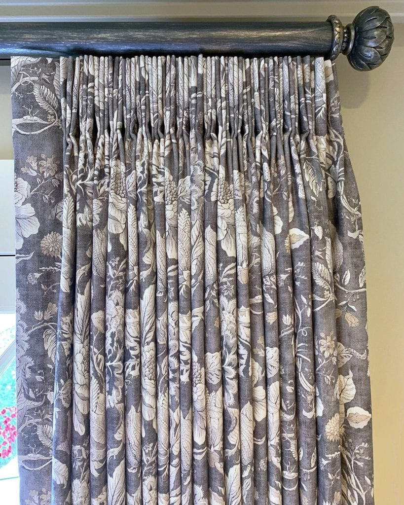 Willow Bloom Home Eloise Charcoal Drape