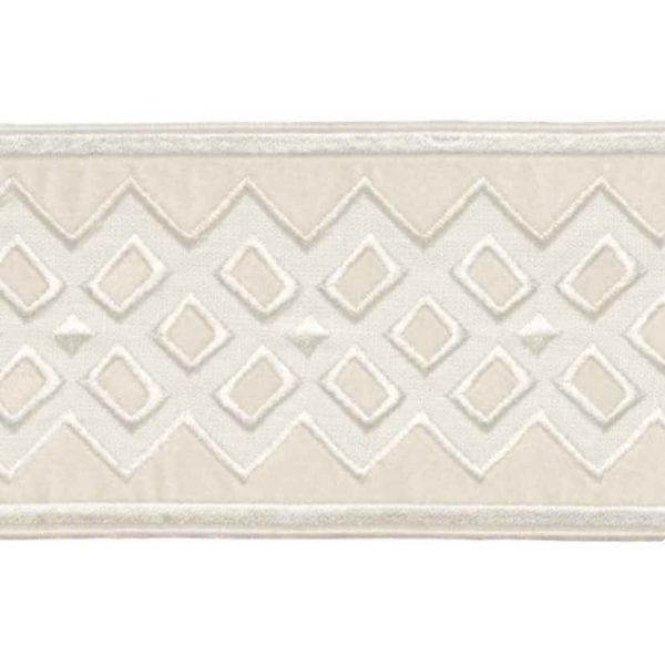 Willow Bloom Home Reine Velvet Ecru Trim