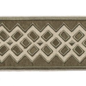 Willow Bloom Home Reine Velvet Olive Trim