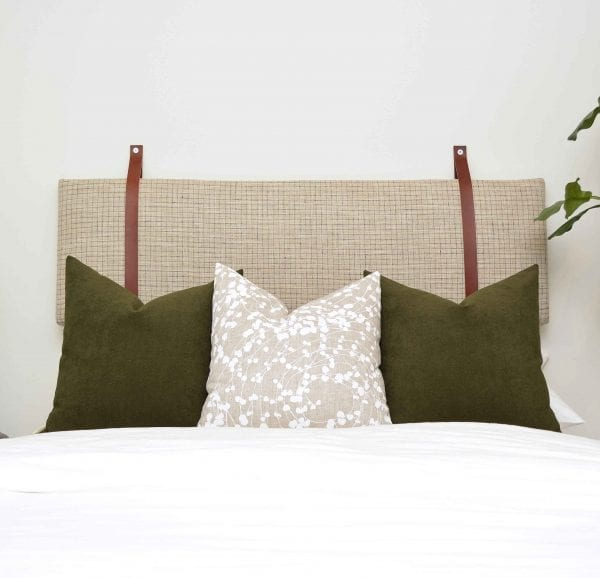 Willow Bloom Home Vince Cushion Headoard