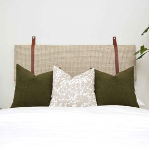 Willow Bloom Home Vince Cushion Headboard