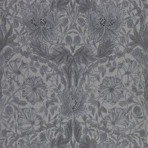 Willow Bloom Home Florine Black Ink Wallaper