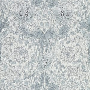 Willow Bloom Home Florine Cloud Grey Wallpaper