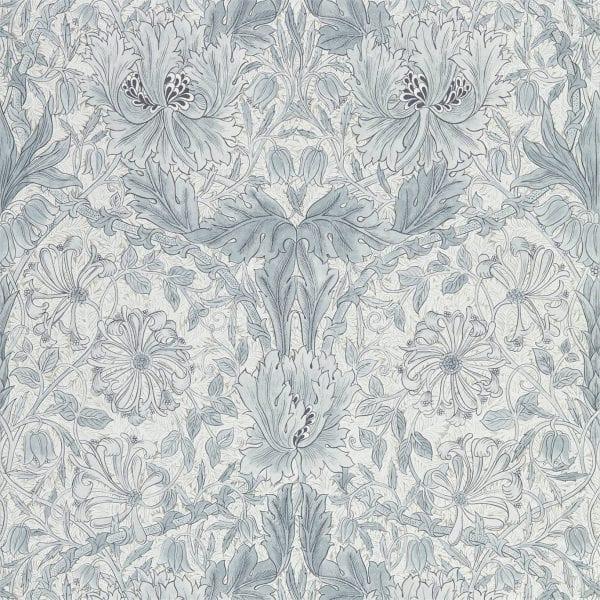 Willow Bloom Home Florine Cloud Grey Wallpaper