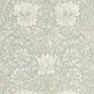 Willow Bloom Home Florine Grey:Blue Wallpaper