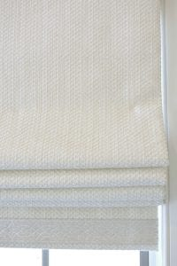 Willow Bloom Home Trinity Pearl Roman Shade