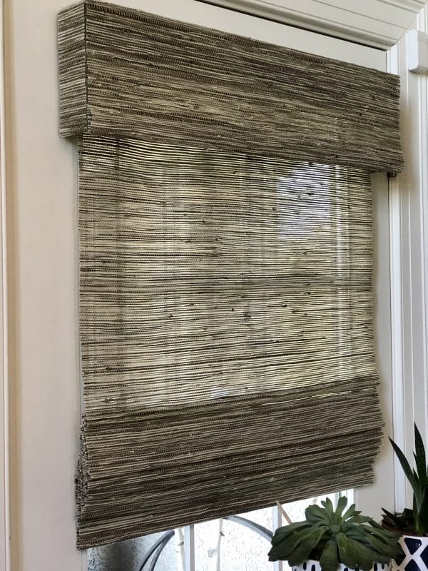 Willow Bloom Home Okalani Fog Woven Blind