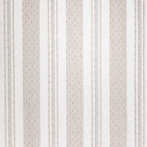 Willow Bloom Home Maira Stripe Beige Roman Shade