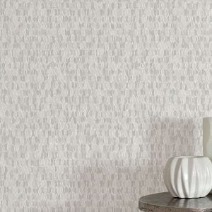 Willow Bloom Home Lucca Light Grey Wallpaper