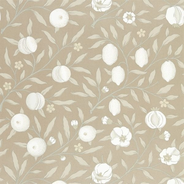 Willow Bloom Home Verbena Gilver Wallpaper