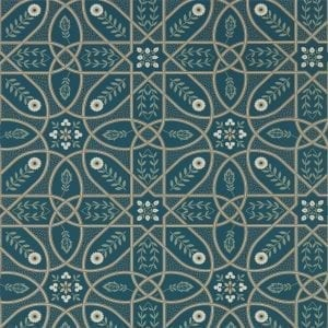 Willow Bloom Home Madlen Deep Teal Wallpaper