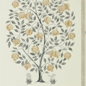 Willow Bloom Home Anaar Tree Charcoal Wallpaper