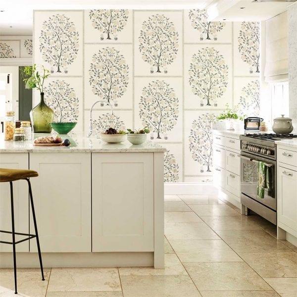 Willow Bloom Home Anaar Tree Wallpaper