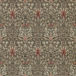 Willow Bloom Home Eden Charcoal:Spice Wallpaper