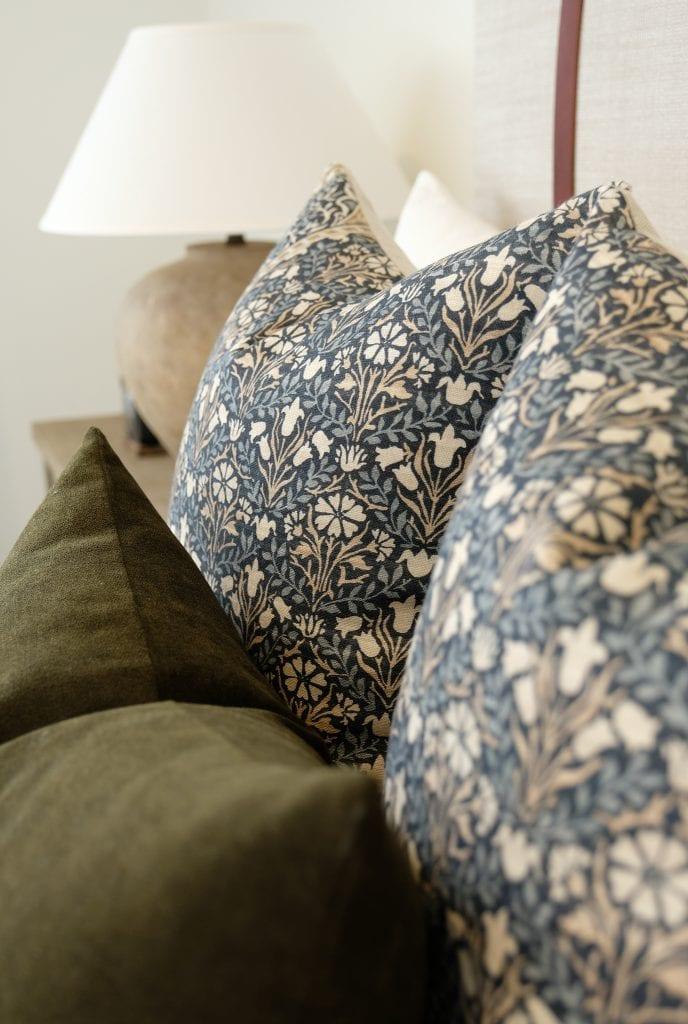 Willow Bloom Home Bellflowers Pillow