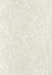 Willow Bloom Home Solaine Beige Grasscloth Wallpaper