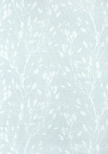 Willow Bloom Home Solaine Blue Grasscloth Wallpaper