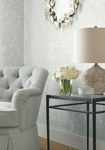 Willow Bloom Home Solaine Grasscloth Wallpaper